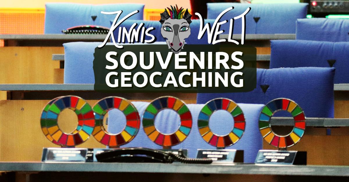 Souvenir Belohnung Geocaching
